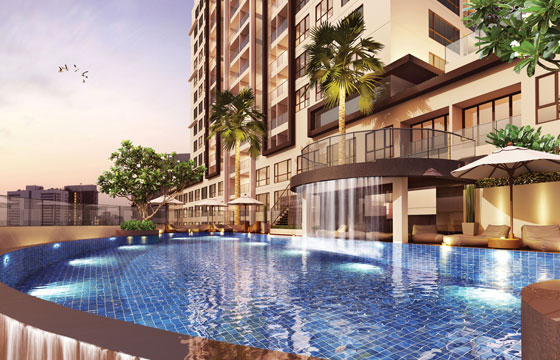 15-Sukhumvit-Residences-swimming-pool-Bangkok-condo